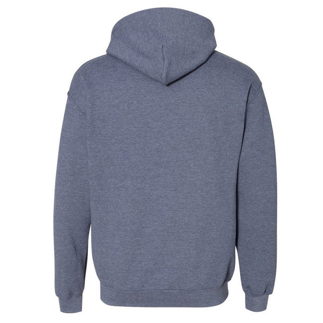 Plum - Front - Gildan Heavy Blend Adult Unisex Hooded Sweatshirt-Hoodie