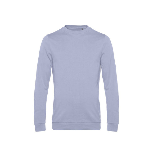 Lavender - Front - B&C Mens Set In Sweatshirt