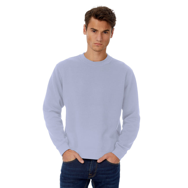 Light Jade - Front - B&C Mens Set In Sweatshirt