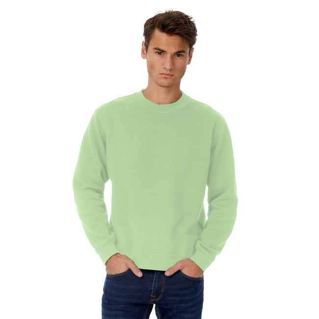 Mellennial Khaki - Front - B&C Mens Set In Sweatshirt