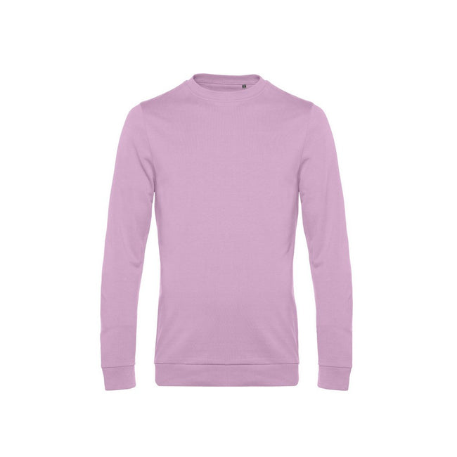 Candy Pink - Front - B&C Mens Set In Sweatshirt