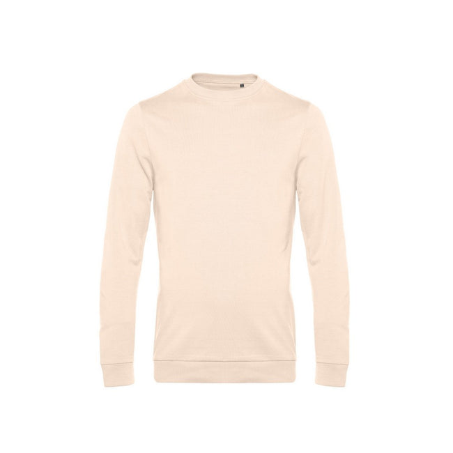 Red - Front - B&C Mens Set In Sweatshirt