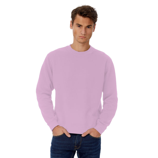 Elephant Gray - Front - B&C Mens Set In Sweatshirt