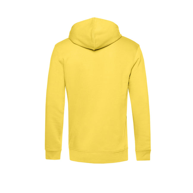 Pure Orange - Front - B&C Mens Organic Hooded Sweater