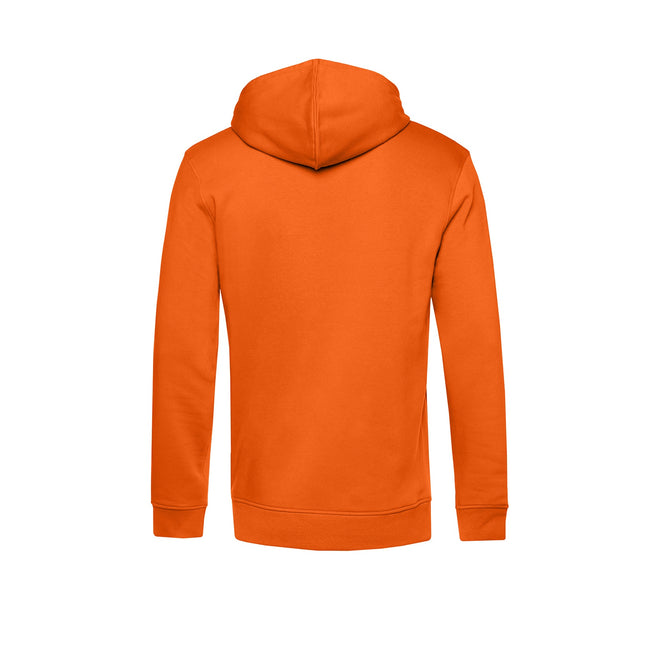 Royal Blue - Front - B&C Mens Organic Hooded Sweater