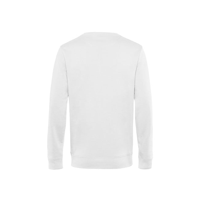 Asphalt - Front - B&C Mens Organic Crew Neck Sweat