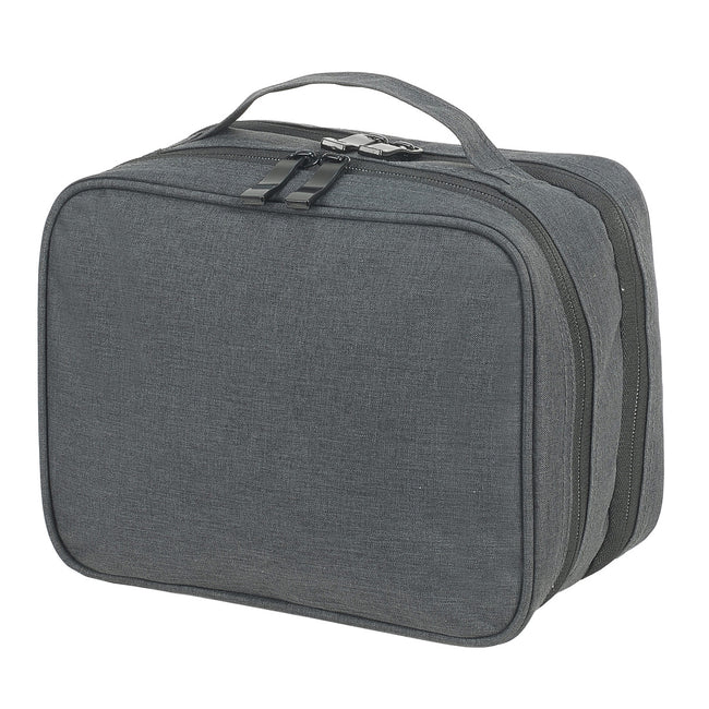Charcoal - Front - Shugon Toiletry Pouch