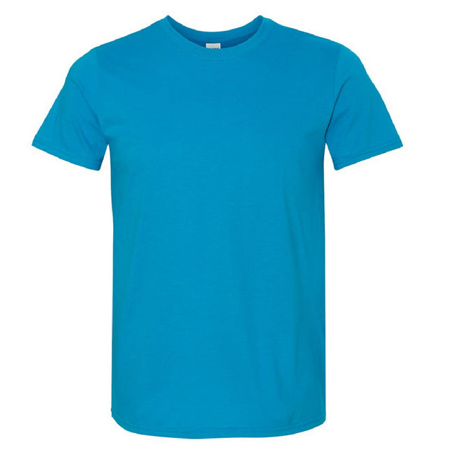 Sand - Front - Gildan Mens Short Sleeve Soft-Style T-Shirt