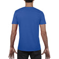 Royal - Pack Shot - Gildan Mens Soft Style V-Neck Short Sleeve T-Shirt