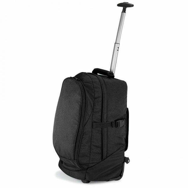Black - Front - Quadra Vessel Airporter Travel Bag (28 liters)