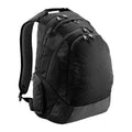 Black - Front - Quadra Vessel Laptop Backpack Bag