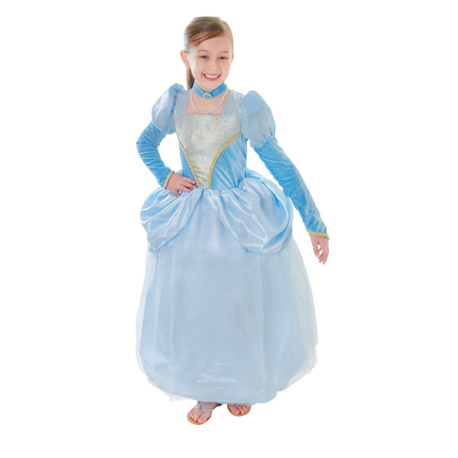 Blue - Front - Bristol Novelty Childrens-Kids Princess Dress Costume