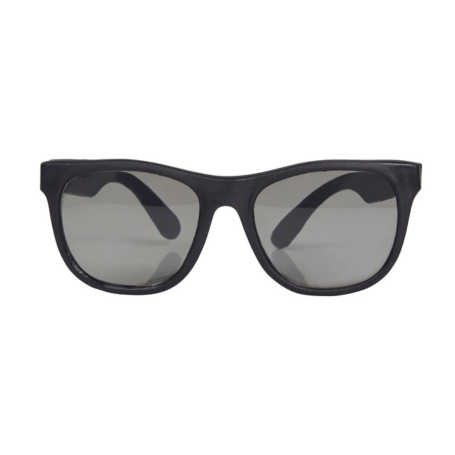 Black - Front - Bristol Novelty Unisex Adults Gangster Glasses