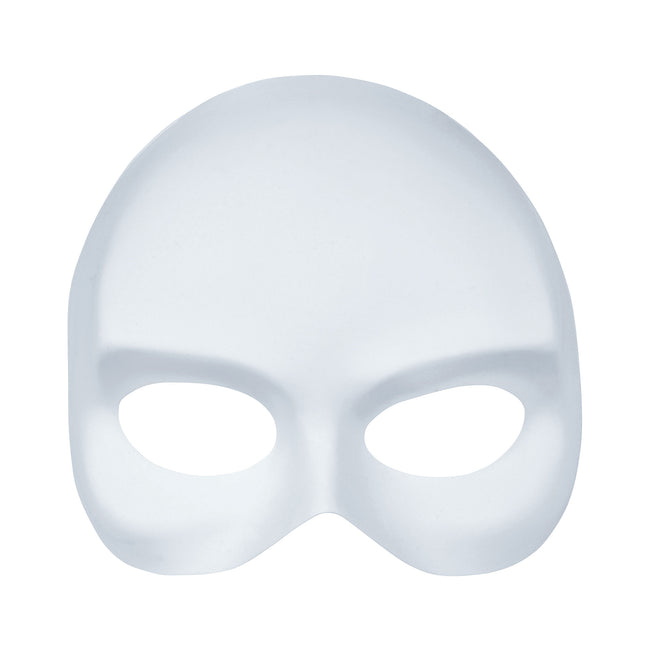 White - Front - Bristol Novelty Unisex Half-Face Mask