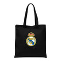 Black - Back - Real Madrid CF Tote Bag