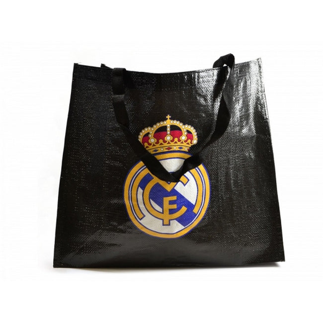Black - Front - Real Madrid CF Tote Bag