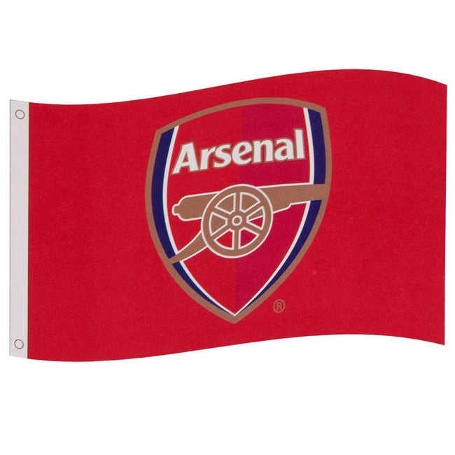 Red - Front - Arsenal FC Core Crest Flag