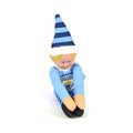 Light Blue-White - Back - Manchester City FC Official Soccer Christmas Team Elf