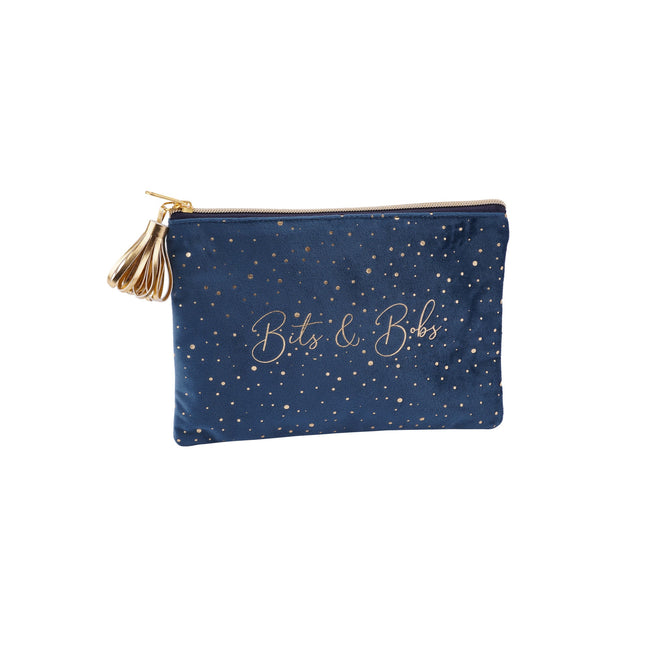 Navy - Front - Voila Bits and Bobs Beauty Bag