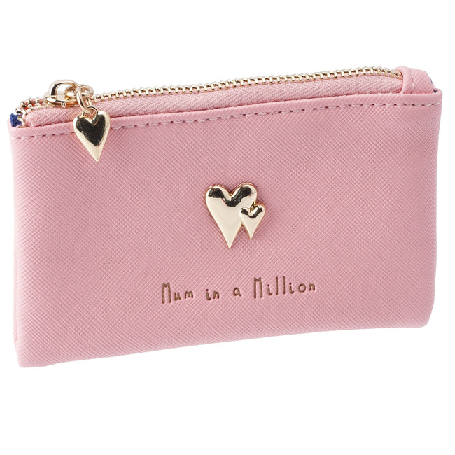 Pink-Gold - Front - CGB Giftware WBM Mum in a Million Coin Purse