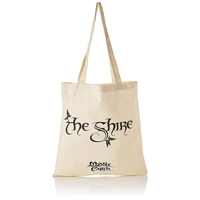 White - Front - Lord Of The Rings The Shire Tote Bag