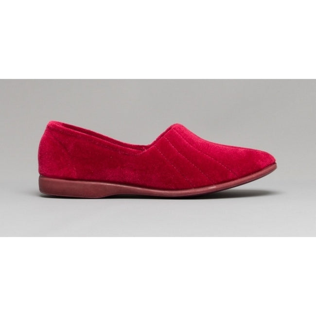 Grey - Front - GBS Audrey Ladies Slipper - Womens Slippers
