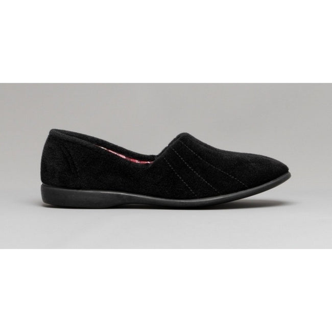 Heather - Front - GBS Audrey Ladies Slipper - Womens Slippers