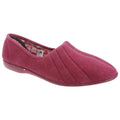 Red - Front - GBS Audrey Ladies Slipper - Womens Slippers