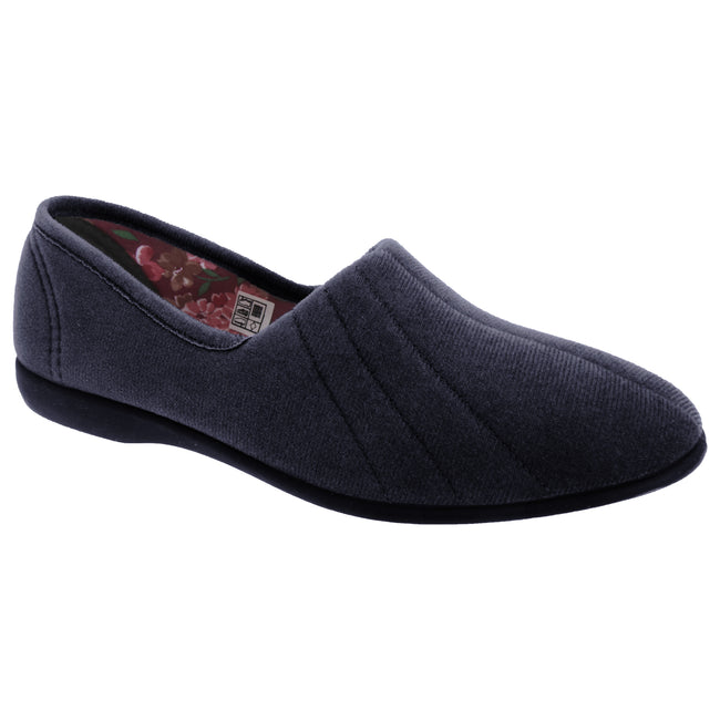 Ocean - Front - GBS Audrey Ladies Slipper - Womens Slippers