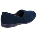 Light Blue - Front - GBS Audrey Ladies Slipper - Womens Slippers