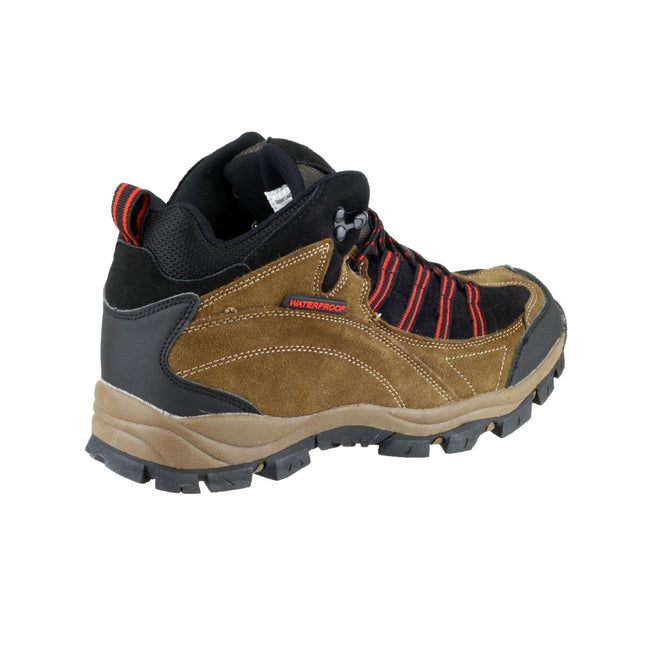 Brown-Red - Back - Mirak Kentucky Hiker Womens Hiking Boot