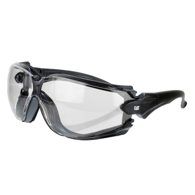 Clear - Front - Caterpillar Torque Safety Glasses