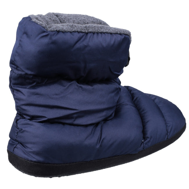 Navy - Lifestyle - Cotswold Mens Camping Bootie Slippers