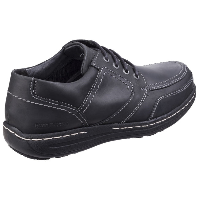 Black - Back - Hush Puppies Mens Volley Victory Formal Lace Up Shoes