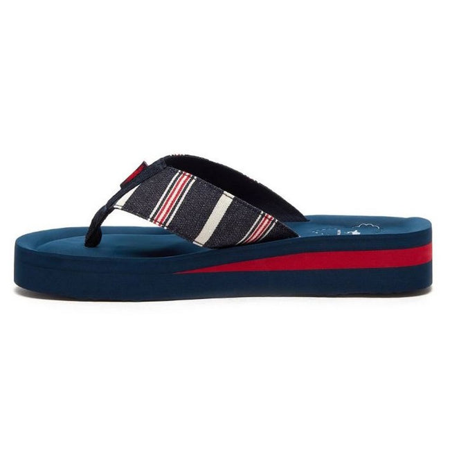 Blue - Lifestyle - Rocket Dog Womens-Ladies Winner Elgin Flip Flop
