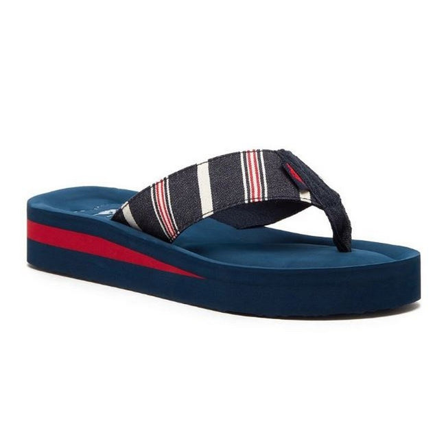 Blue - Front - Rocket Dog Womens-Ladies Winner Elgin Flip Flop