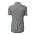 Silver - Back - James and Nicholson Mens Bike T-Shirt