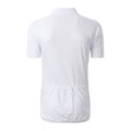 White - Back - James and Nicholson Mens Bike T-Shirt