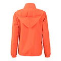 Bright Orange - Back - James and Nicholson Womens-Ladies Promo Jacket