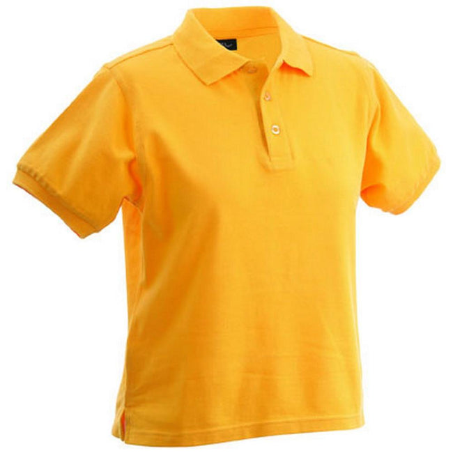 Gold Yellow - Front - Classic Polo Ladies