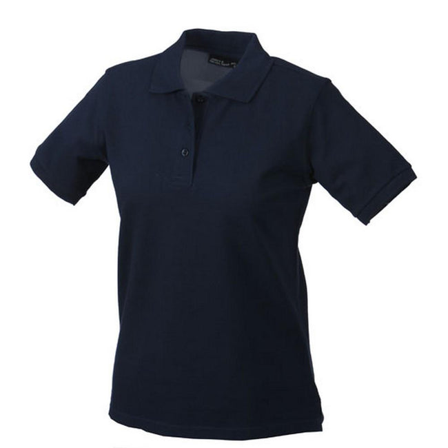 Navy - Front - Classic Polo Ladies