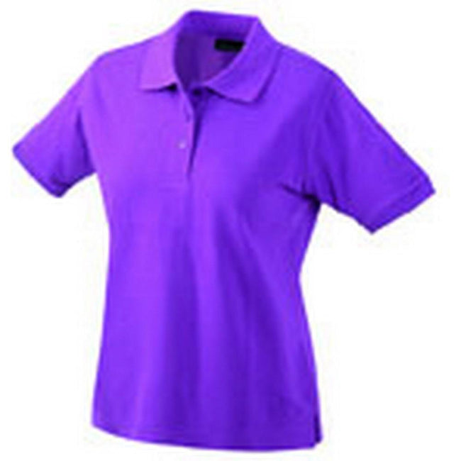 Purple - Front - Classic Polo Ladies