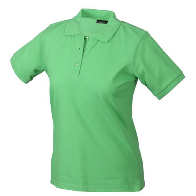 Lime Green - Front - Classic Polo Ladies