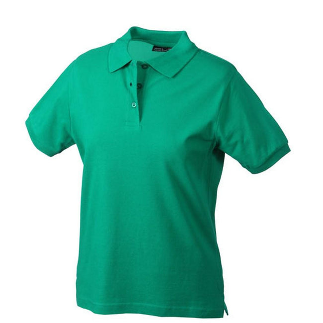 Irish Green - Front - Classic Polo Ladies