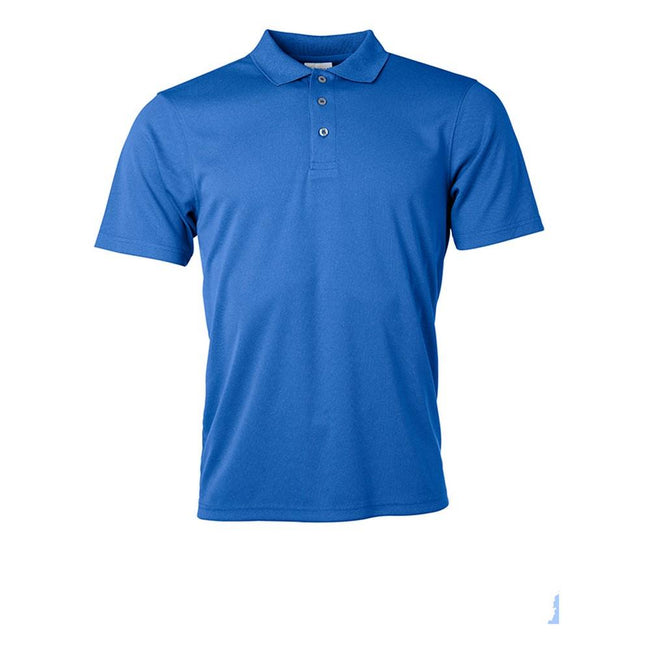 Royal Blue - Front - James and Nicholson Mens Active Polo