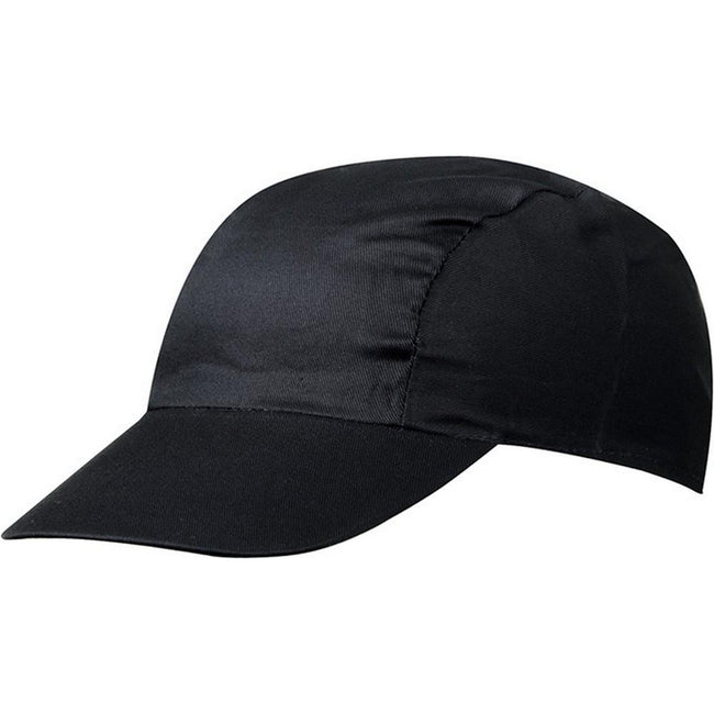 Black - Front - Myrtle Beach Adults Unisex 3 Panel Promo Cap