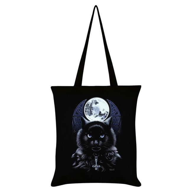Black - Front - Requiem Collective The Bewitching Hour Tote Bag