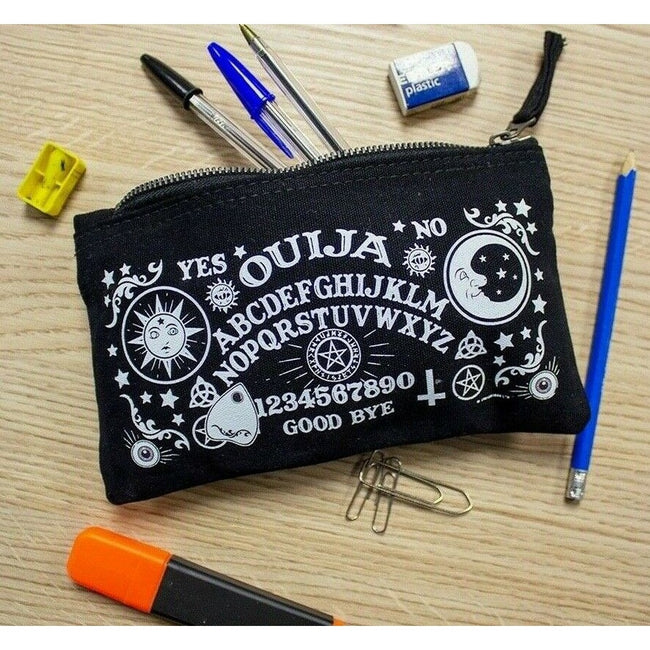 Black - Back - Grindstore Ouija Board Pencil Case