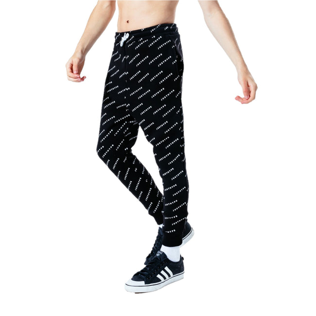 Black - Front - Hype Boys Jh Repeat Jogging Bottoms