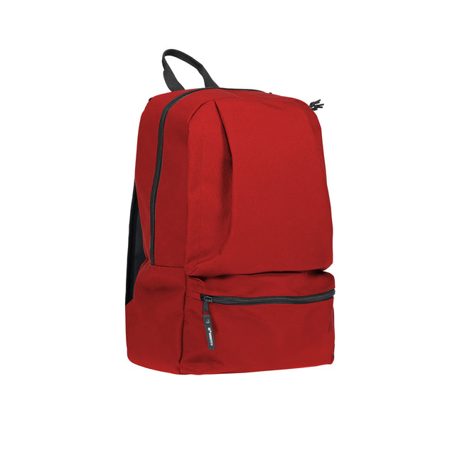 Red - Front - ID Ripstop Backpack
